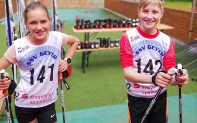 Treppchenplätze für VSC-Sportler bei Junior Trophy in Geyer