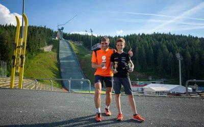 Vater und Sohn dominieren Sparkassen-Vogtlandlauf-Challenge