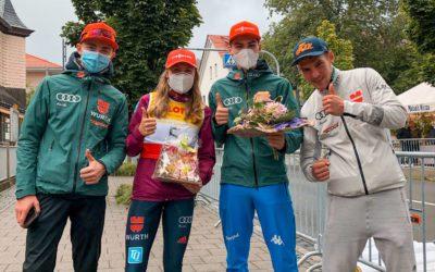 Wettkampf-Triple für nordische Skisportler aus Klingenthal